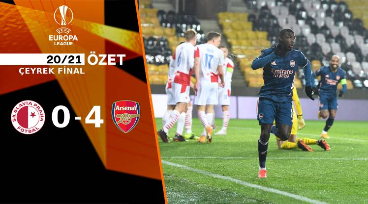 Slavia Prag Arsenal maç özeti
