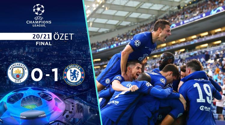 Manchester City Chelsea maç özeti