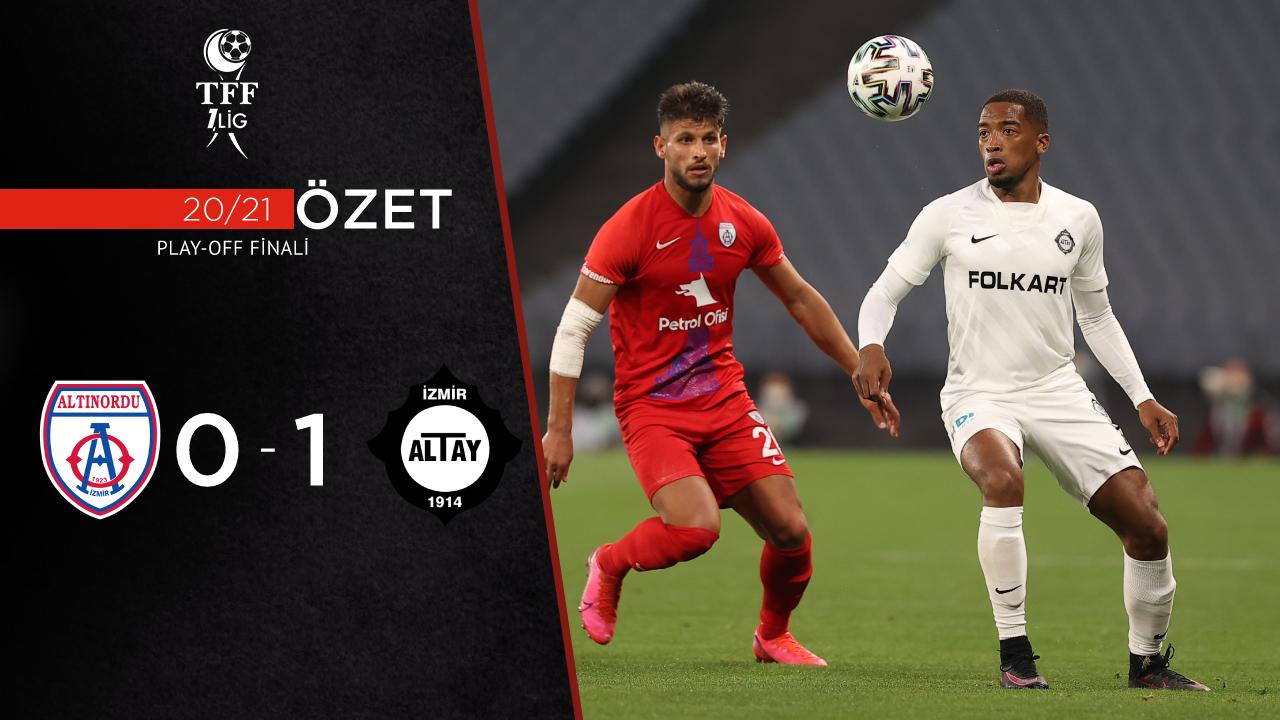 Altınordu Altay maç özeti