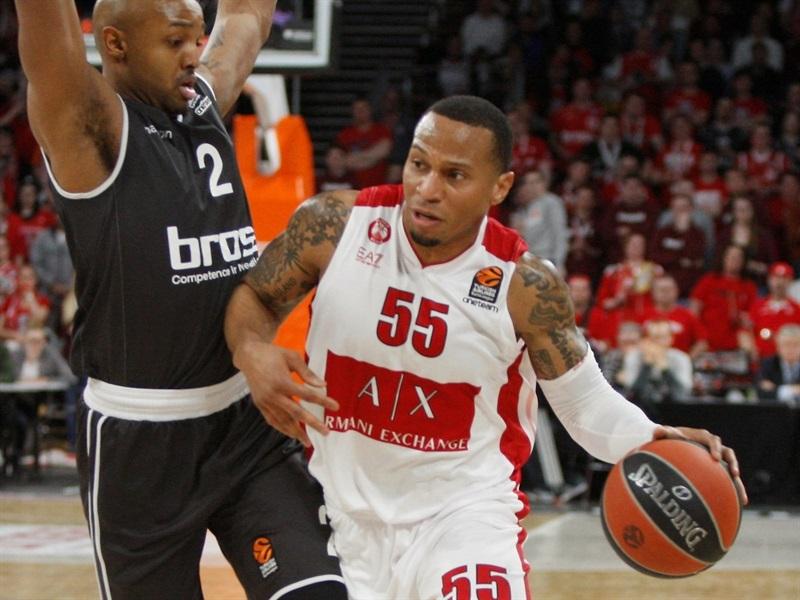 Brose Baskets Bamberg AX Armani Ex. Olimpia Milano maç özeti