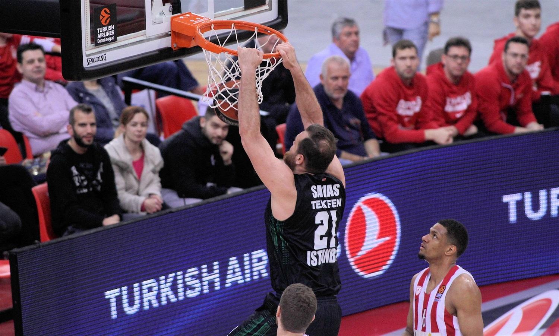 Olympiakos Darüşşafaka Tekfen  maç özeti