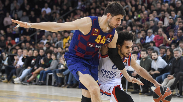 FC Barcelona Lassa Anadolu Efes maç özeti