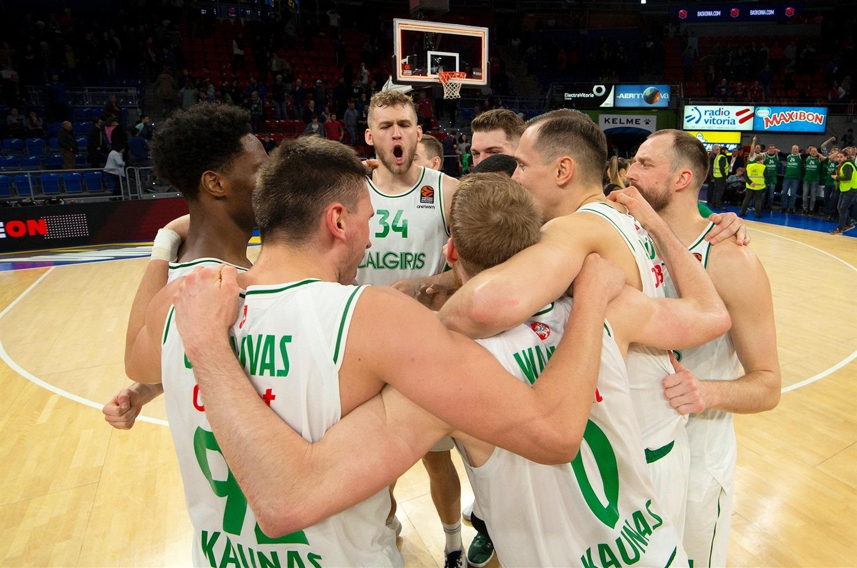 TD Systems Baskonia Zalgiris Kaunas maç özeti