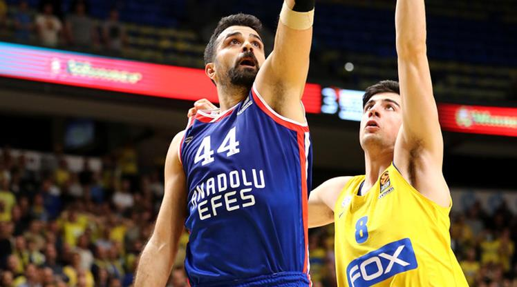 Maccabi Playtika Tel Aviv Anadolu Efes maç özeti